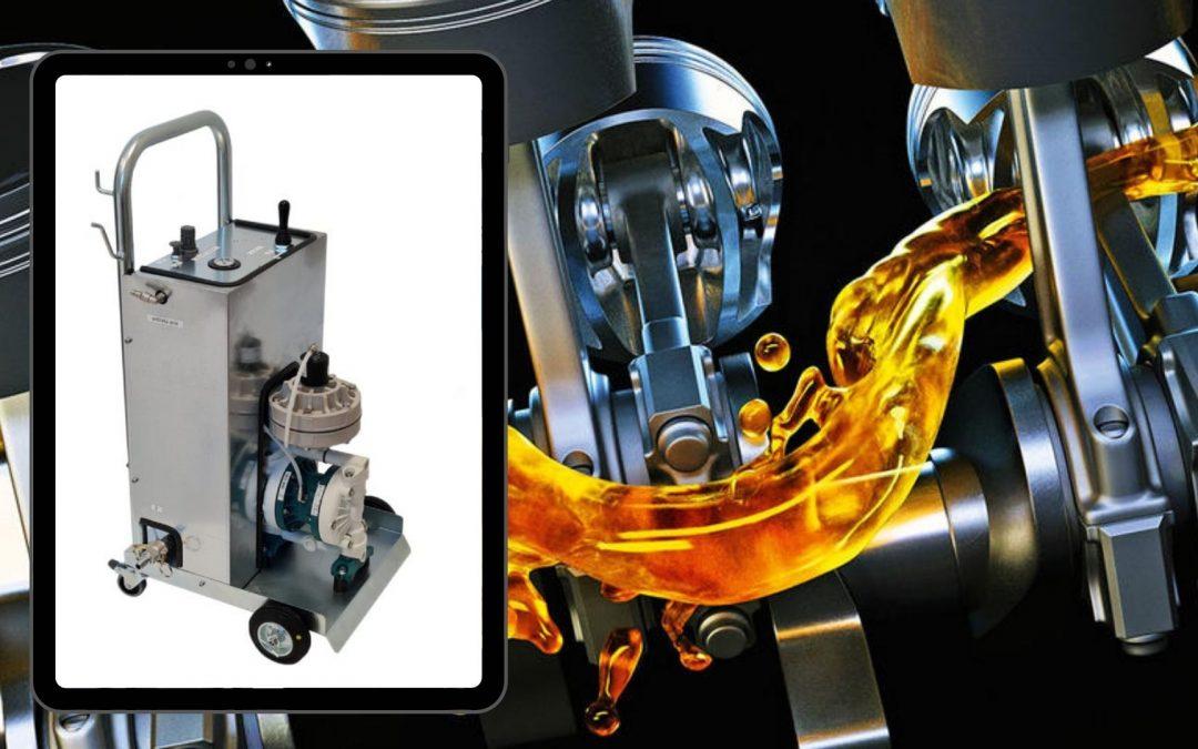 Soluzioni su misura: NKIND1106 Kit di travaso oli lubrificanti
